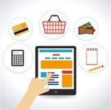 Marketing design Stock Photo