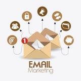 Marketing design. Marketing design over white background, vector illustration Stock Photo