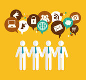 Marketing design Royalty Free Stock Photo
