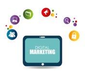 Marketing design, vector illustration. Marketing design over white background, vector illustration Stock Photos