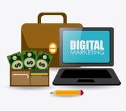 Marketing design, vector illustration. Royalty Free Stock Images