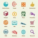 Marketing elements Stock Image