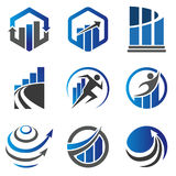 Marketing and Finance concept Logo Royalty Free Stock Photo