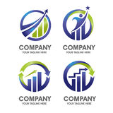 Marketing-finance-concept Royalty Free Stock Image