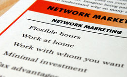 Marketing Flyer Stock Images