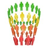 Marketing Funnel Sales Stock Image
