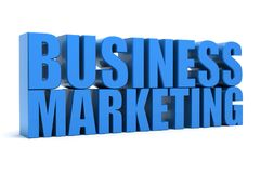Marketing-Geschäft Stockfotos