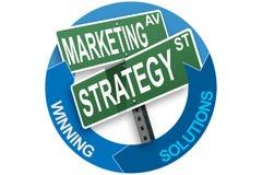 Marketing-Geschäftskonzept Lizenzfreie Stockfotografie