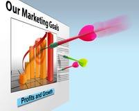 Marketing-Geschäftsverkäufe Lizenzfreie Stockfotos
