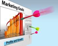 Marketing-Geschäftsverkäufe Lizenzfreies Stockfoto