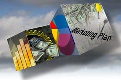 Marketing-Geschäftsverkäufe Stockfoto