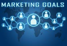 Marketing Goals Stock Image