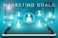 Marketing Goals Royalty Free Stock Photography