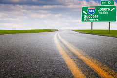 Marketing highway Stock Image