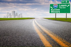 Marketing highway city Royalty Free Stock Images