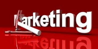 Marketing-Hilfsmittel stock abbildung