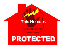 Marketing Home alarm Security Stock Photo