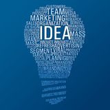 Marketing idea communication Royalty Free Stock Photo