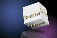 Marketing-Ideen und Lösungen Stockbild