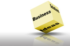 Marketing-Ideen und Lösungen Stockfotografie