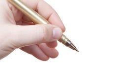 Marketing isolated pen Stock Image