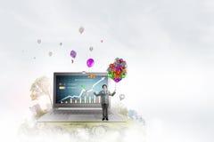 Marketing-Jahresbericht Lizenzfreies Stockbild