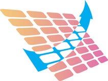 Marketing logo Stock Images