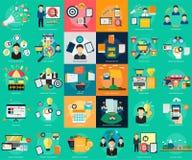 Marketing and Management vector illustration