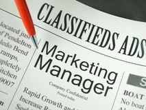 Marketing Manager Stock Photography