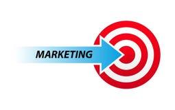 Marketing mengeling stock illustratie