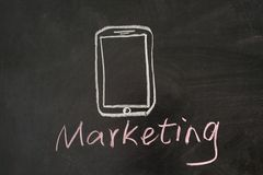 Marketing Mobile Images stock