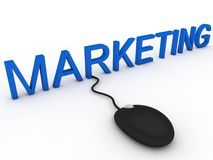 Marketing online Stock Images