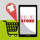 Marketing online and ecommerce sales Royalty Free Stock Photography