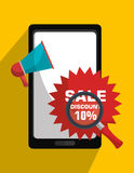 Marketing online and ecommerce sales Stock Photography