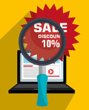 Marketing online and ecommerce sales Royalty Free Stock Images