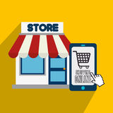 Marketing online and ecommerce sales Royalty Free Stock Photos