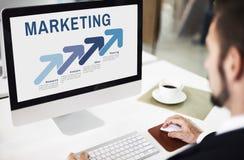 Marketing Organization Managrment Strategy Concept Royalty Free Stock Image