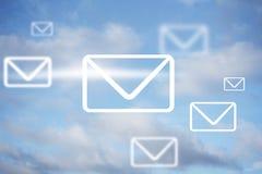 Marketing par e-mail Image stock