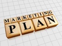 Marketing plan Stock Images