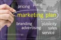 Marketing plan Royalty-vrije Stock Fotografie
