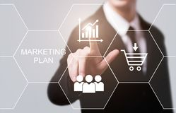 Marketing Plan Business Advertising Strategy Promotion concept royalty free stock photography