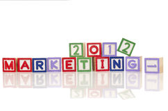 Marketing plan concept Stock Photo