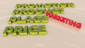 Marketing plan stock illustration