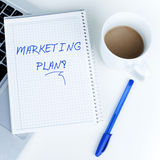 Marketing Plan Royalty Free Stock Images