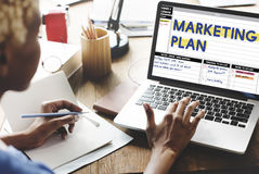 Marketing Plan Strategy Branding Advertising Commercial Concept royalty free stock images