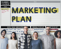 Marketing Plan Strategy Branding Advertising Commercial Concept royalty free stock image