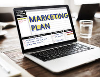 Marketing Plan Strategy Branding Advertising Commercial Concept Stock Photo