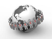 Marketing plan success Royalty Free Stock Photography