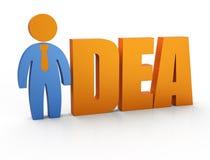 Marketing plan success Stock Image
