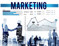 Marketing Planning Strategy Business Organization Concept Stock Images